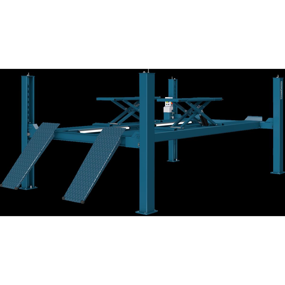 Combi Lift 4.40 S Plus, RAL 5001 (Blau) » Hebebühnen Für