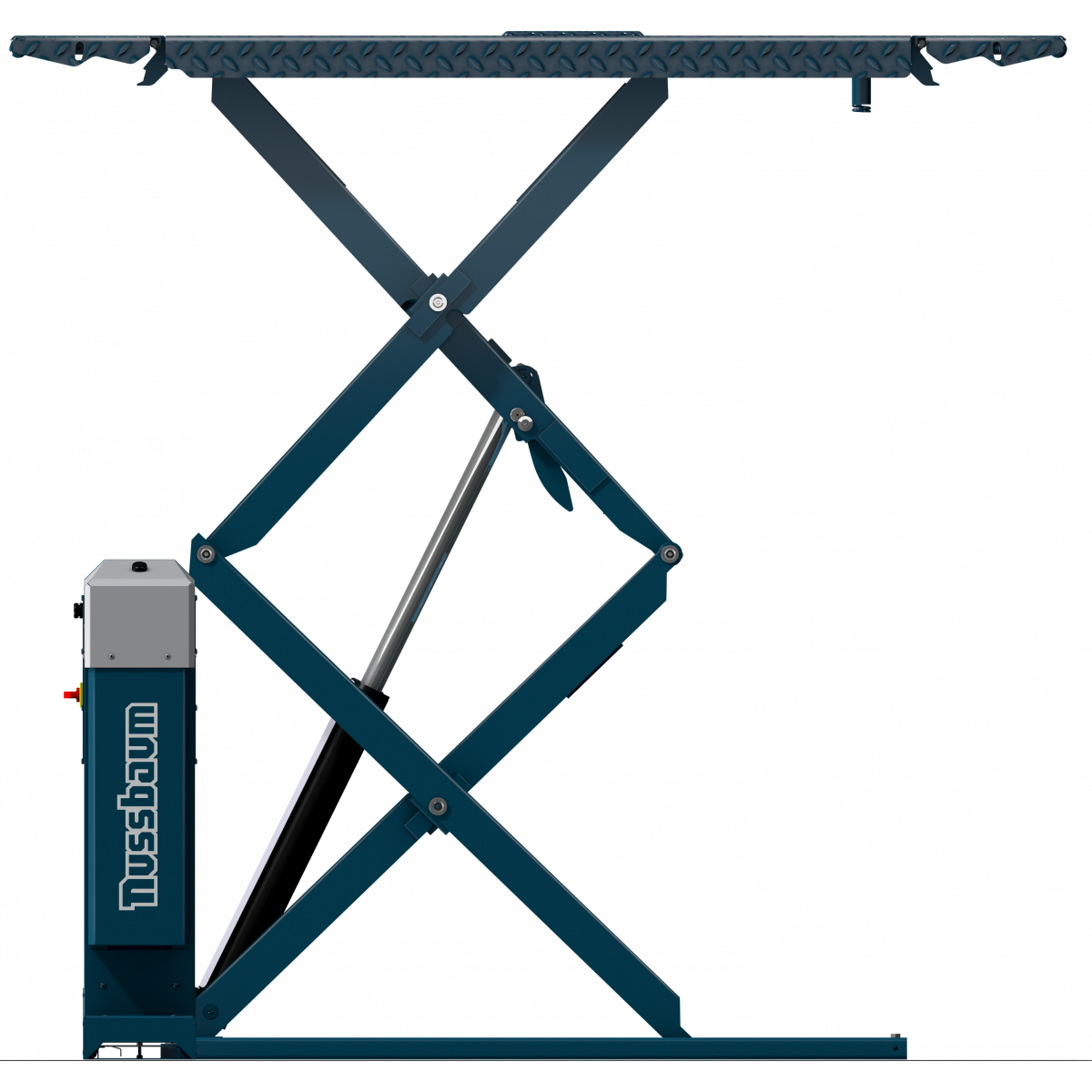 Double scissor car lift Jumbo Lift 3200 NT s RAL5001 blue