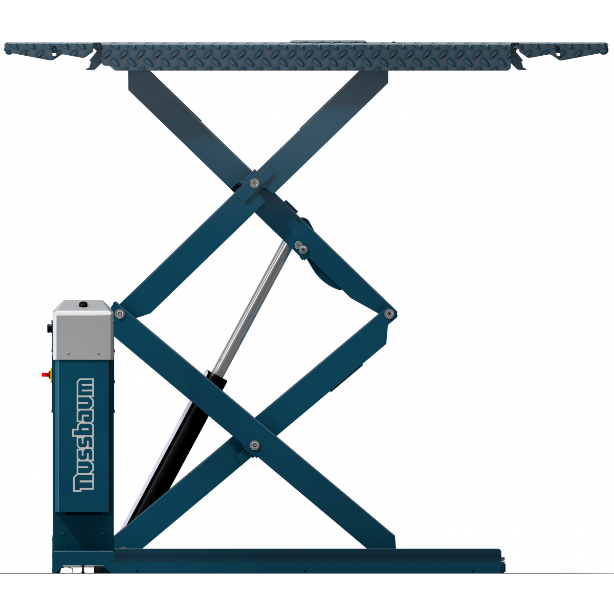 Double scissor car lift Jumbo Lift 4000 NT s RAL5001 blue